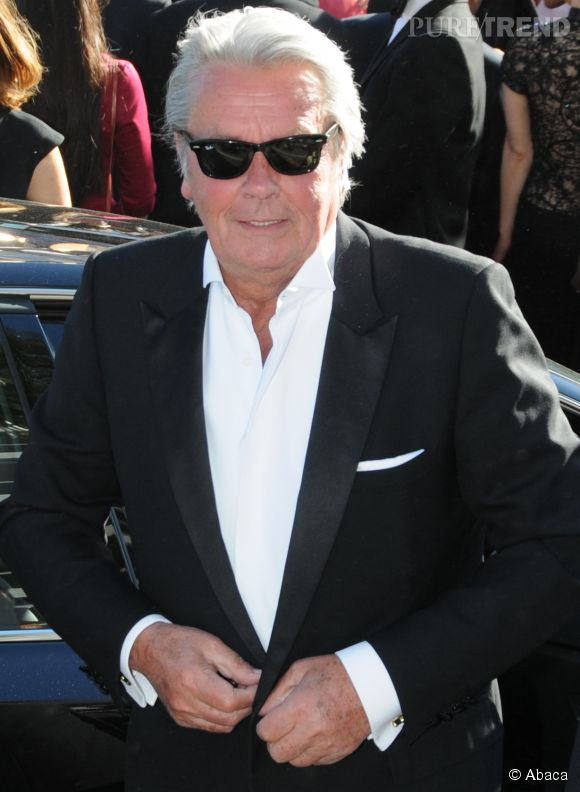 Alain Delon, l'un des acteurs préférés des Français.