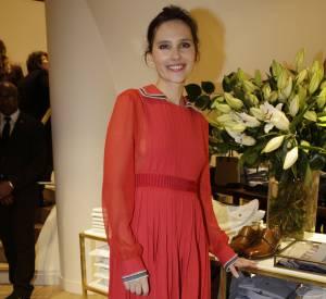Virginie Ledoyen à l'inauguration de la nouvelle boutique Tommy Hilfiger à Paris, ce mardi 31 mars 2015.