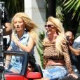 """Britney Spears et Iggy Azalea s'éclatent sur le tournage de leur clip """"Pretty girls""""."""