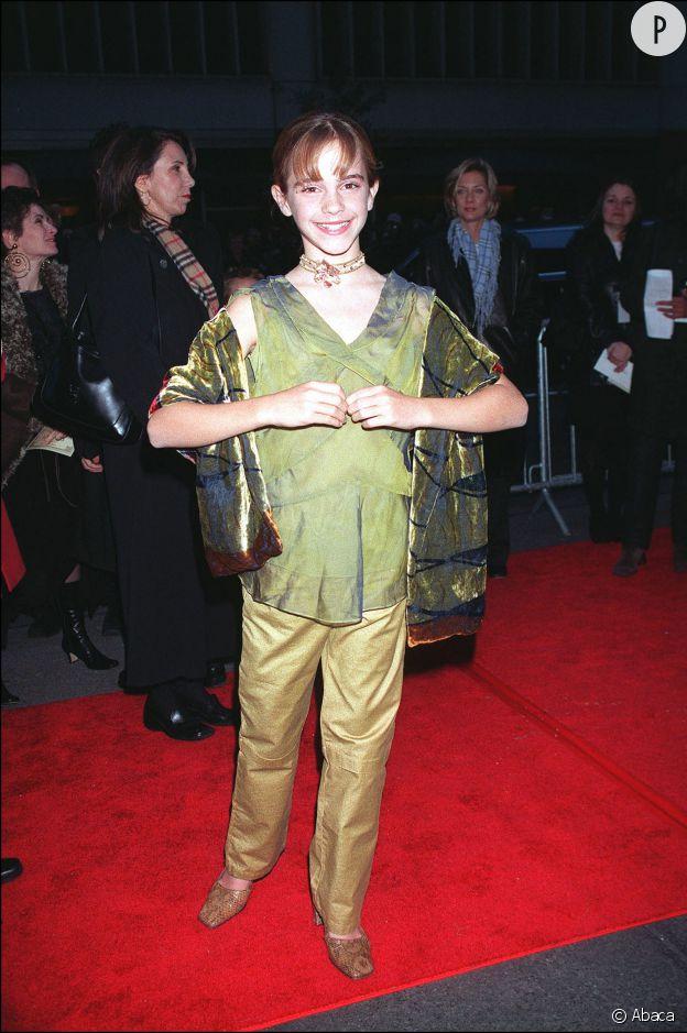 Emma Watson en 2001.