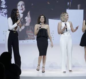 """Shay Mitchell et toutes les """"Pretty Little Liars"""" lors d'un évènement ABC."""