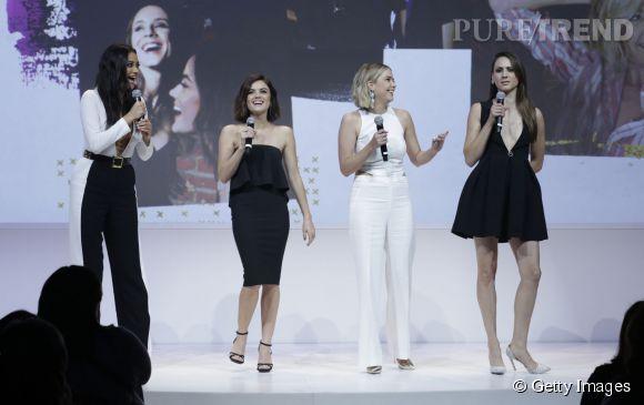 """Shay Mitchell et toutes les """"Pretty Little Liars"""" lors d'un évènement  ABC ."""