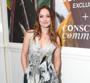 Olivia Wilde, sublime en robe fendue H&M Conscious... On copie !