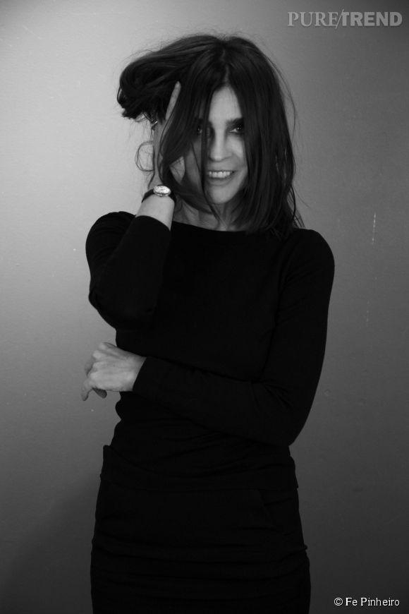 Carine Roitfeld, la nouvelle guest d'Uniqlo.