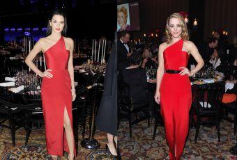 Kendall Jenner vs Rachel McAdams : la robe rouge fendue Romona Keveza