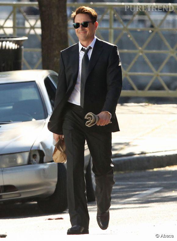 Robert Downey Jr, classe en costard.