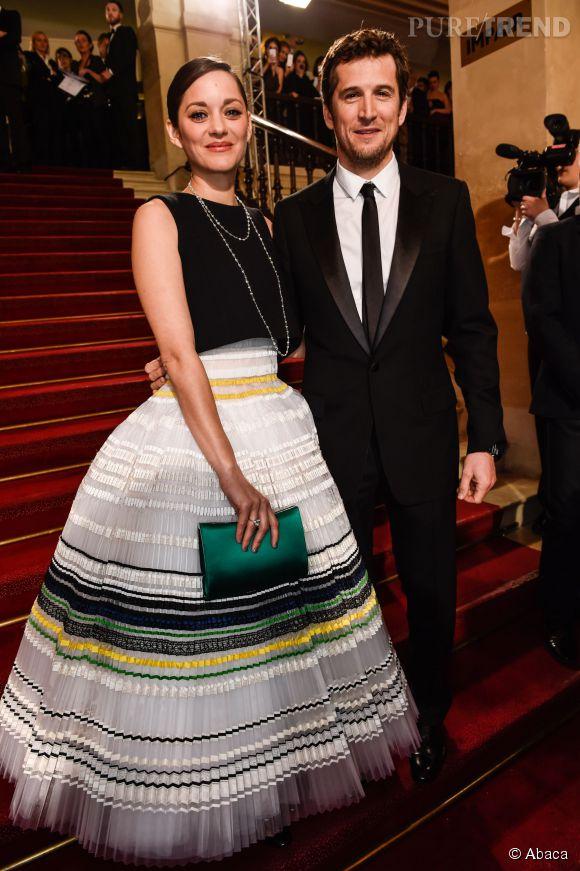 Guillaume Canet et sa compagne, Marion Cotillard.