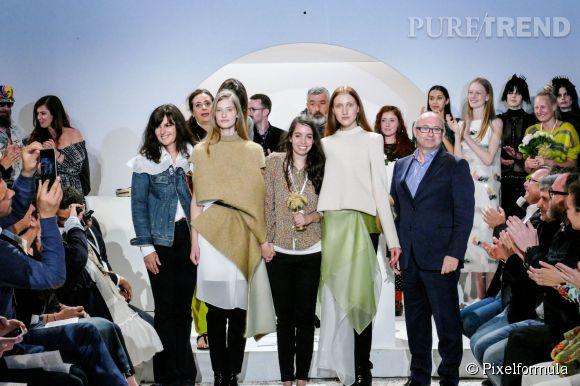 Annelie Schubert remporte le grand prix du jury Première Vision de Hyères ce dimanche 26 avril 2015.