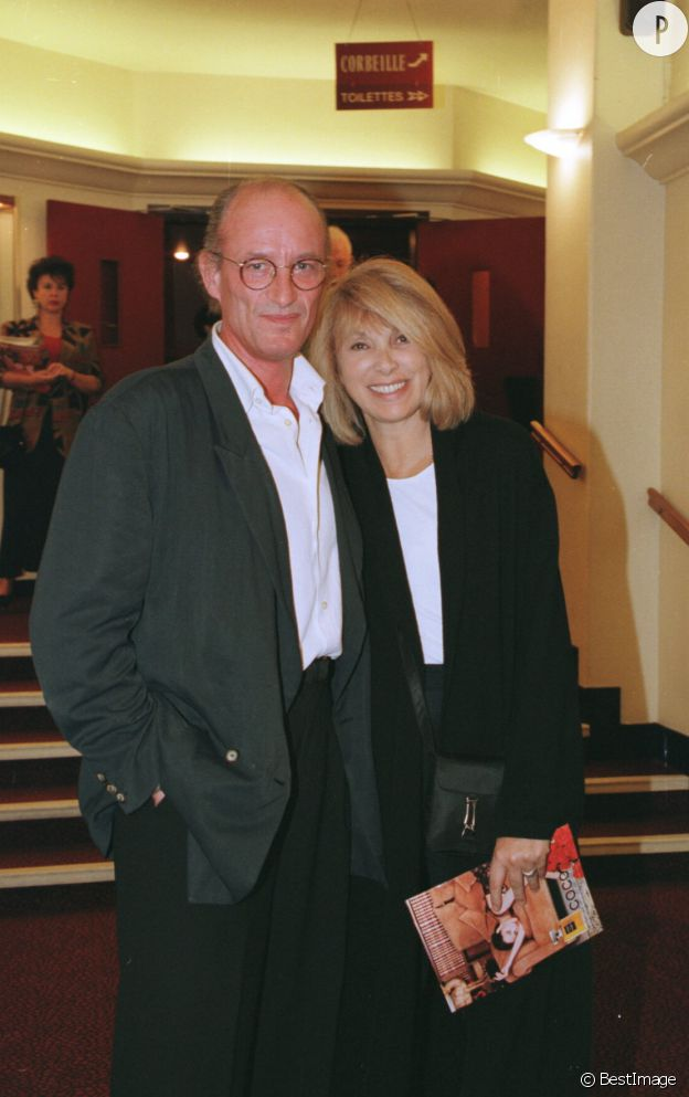 Mireille Darc et son compagnon, Pascal Desprez.