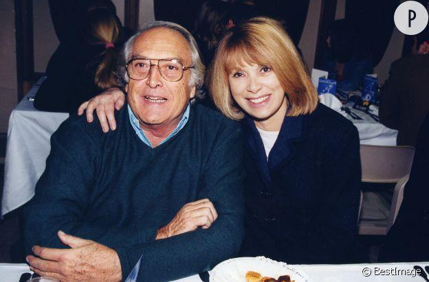 Mireille Darc et Georges Lautner, une amitié prolifique (ils ont tourné treize films ensemble).