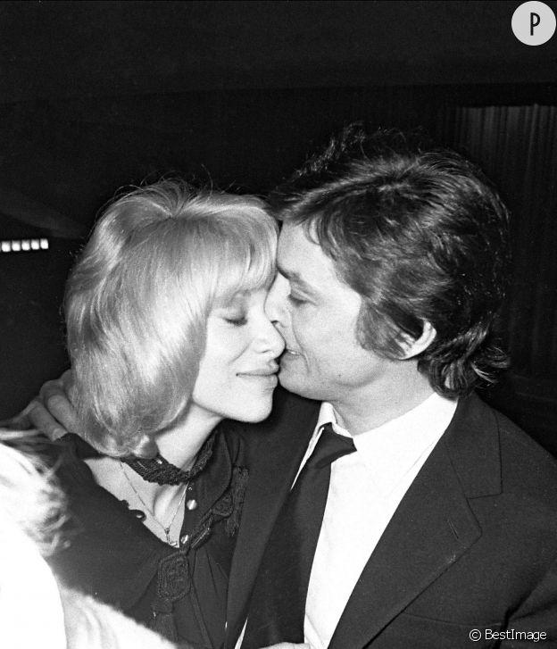 Mireille Darc et Alain Delon, quinze ans d'amour sinon plus.