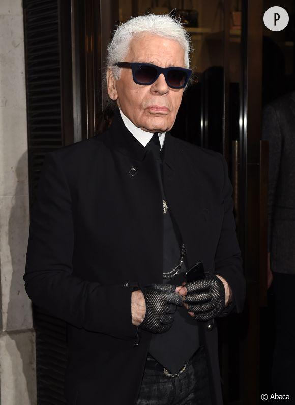 Karl Lagerfeld, excentrique jusqu'au bout des ongles.