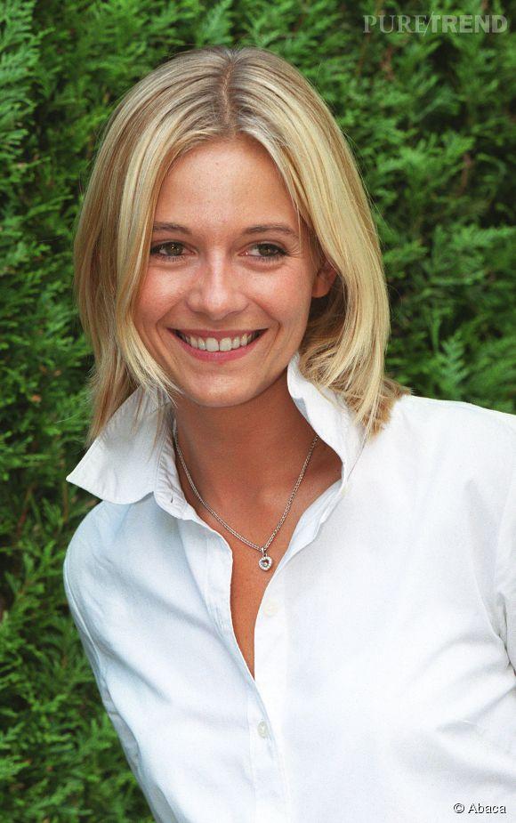 Flavie Flament à ses débuts sur  TF1 .