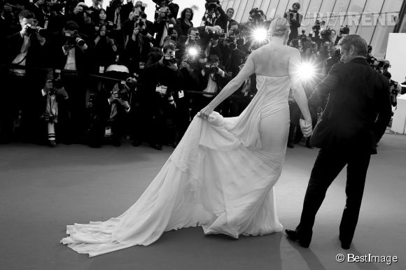 Charlize Theron et Sean Penn, le couple glamour de ce 68ème Festival de Cannes.