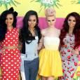 Plus c'est girly et coloré, plus les Little Mix adorent ! Quitte à nous éblouir un peu.