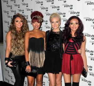 Lors de leurs premiers pas sous le feu des projecteurs, les Little Mix sont comme des teenagers à leur bal de promo, très endimanchées.