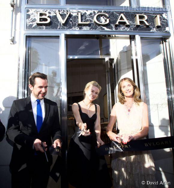 Naomi Watts a inauguré avec élégance le nouvel espace Bulgari de Cannes.