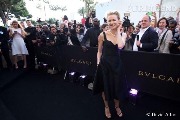 Naomi Watts, sublime invitée de marque pour Bulgari.