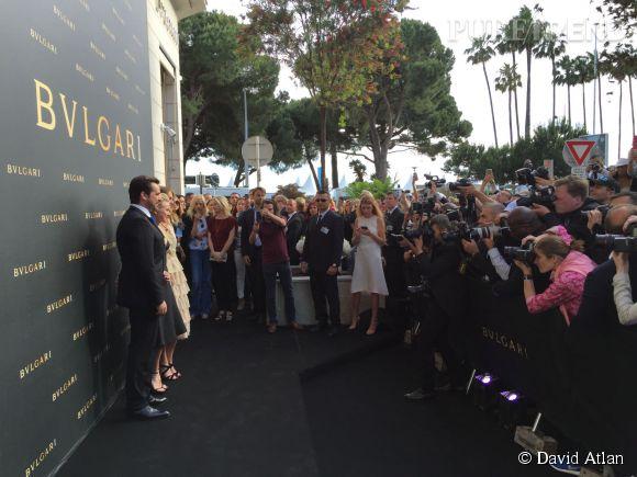 Naomi Watts inaugure la nouvelle boutique Bulgari de Cannes, le 15 mai 2015.