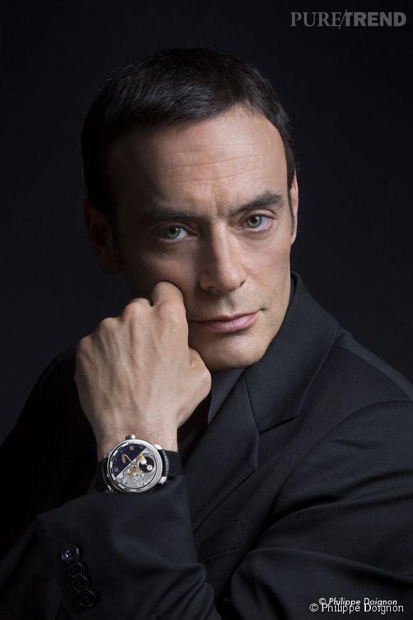 Anthony Delon prête son image à l'horloger genevois DeWitt.