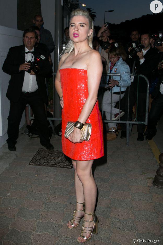 Cécile Cassel alias HollySiz au dîner Chanel, ce mercredi 20 mai à Cannes.