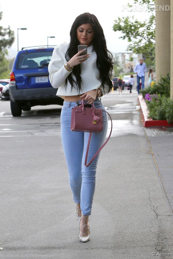 Kylie Jenner une vraie bimbo