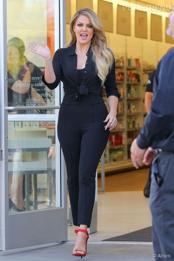 Khloe Kardashian s'est récemment rendue à Dubaï.