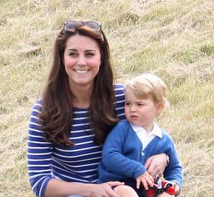 Kate Middleton : rayonnante avec le prince George à un match de polo