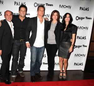 """Courteney Cox a retrouvé le succès, après des années de disette, avec la série """"Cougar Town"""" où elle a le rôle principal."""