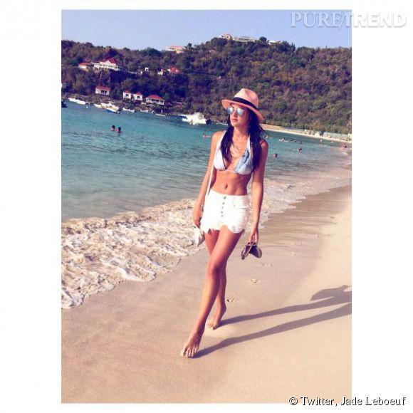 Jade Leboeuf continue à poster des photos assez sexy sur son compte Instagram.
