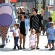 Toute la famille Kardashian-Jenner s'est donné rendez-vous à Disneyland.