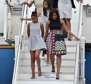 Michelle Obama : First Lady stylée, elle séduit l'Italie