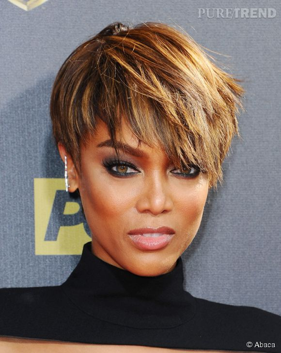 Tyra Banks, une icône glamour.