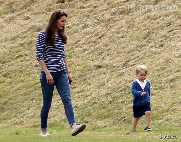 Kate Middleton, ce dimanche 14 juin 2015. Elle semble avoir déjà perdu tout ses kilos de grossesse.