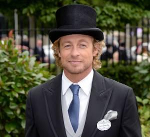 Queue de pie et chapeau haut de forme, Simon Baker avait la panoplie compète du parfait dandy.