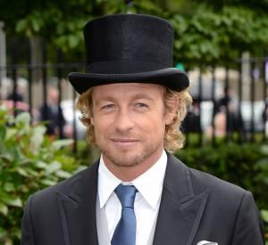 Simon Baker, un dandy au Royal Ascot 2015.