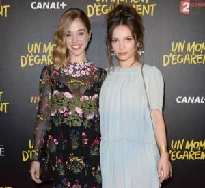 """Alice Issaz et Lola le Lann, l'autre actrice féminine du film """"Un moment d'égarement""""."""
