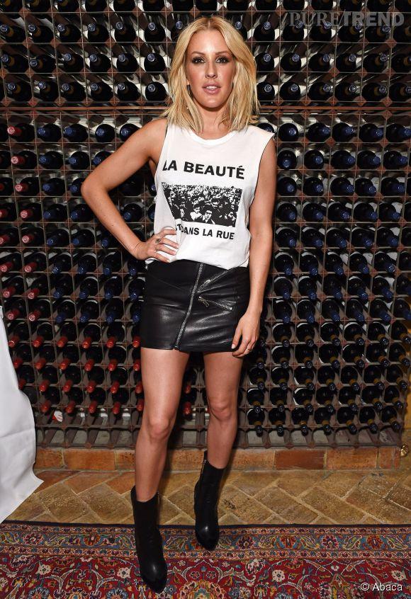 Une collection de maquillage placée sous le signe du nude pour la chanteuse Ellie Goulding.