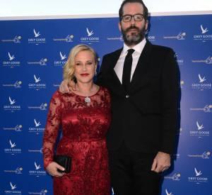 Patricia Arquette est accompagné de son compagnon Eric White.