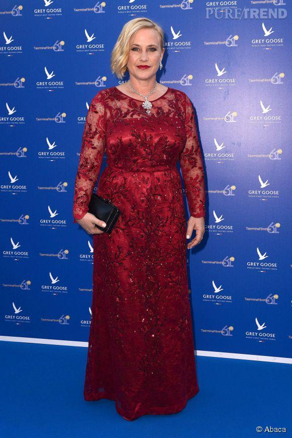 Patricia Arquette au Festival Taormina en Sicile, ce jeudi 18 juin 2015.