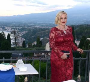 Patricia Arquette est en Italie pour faire un discours.