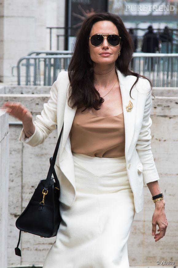 Angelina Jolie, actrice et femme d'affaires.