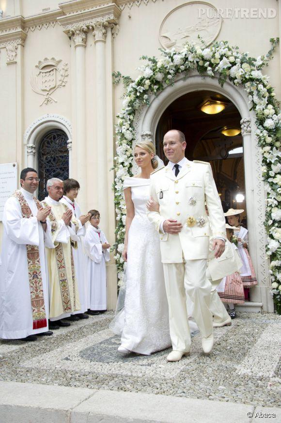 Albert de Monaco s'est marié le 1er juillet 2011 avec Charlène, une ancienne nageuse.