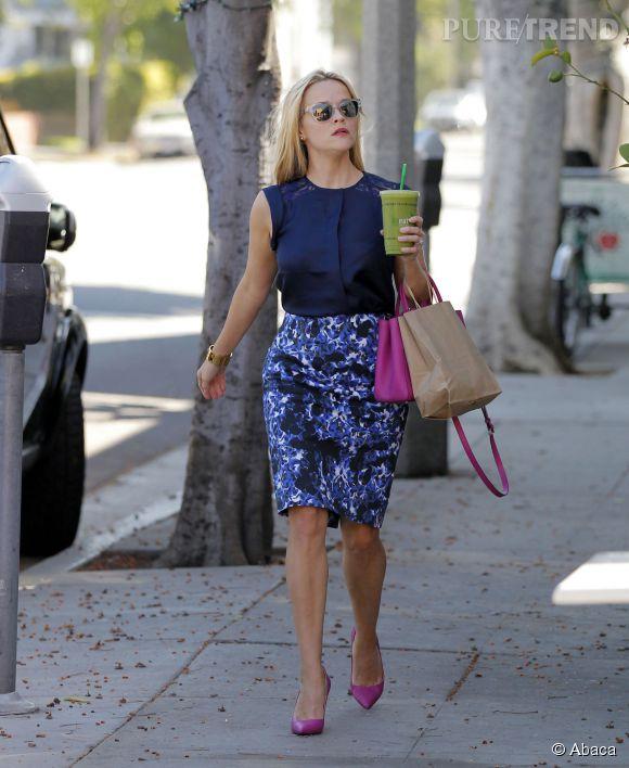 Reese Witherspoon en promenade à Santa Monica, la semaine dernière.