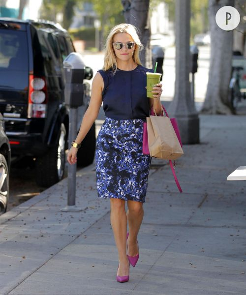 Reese Witherspoon et son look BCBG : à copier !