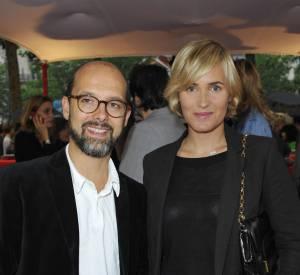 Judith Godrèche et Maurice Barthélémy, le père de sa fille, Tess.