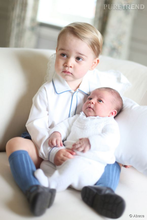 Le petit prince George assistera au baptême de sa soeur Charlotte, à Sandringham.
