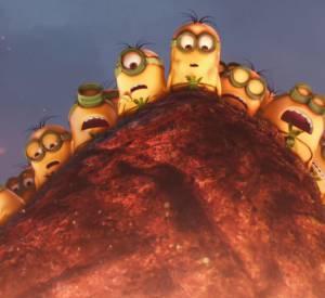 """Bande annonce """"Les Minions"""" dans les salles françaises 8 juillet 2015."""