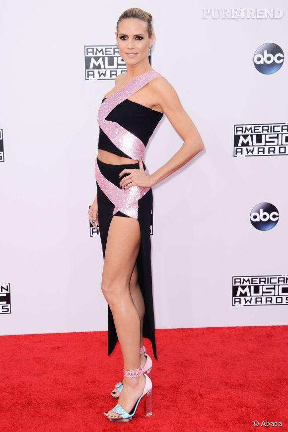 Heidi Klum, des jambes à tomber.