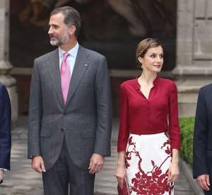 Letizia d'Espagne : rouge passion pour pimenter sa visite au Mexique